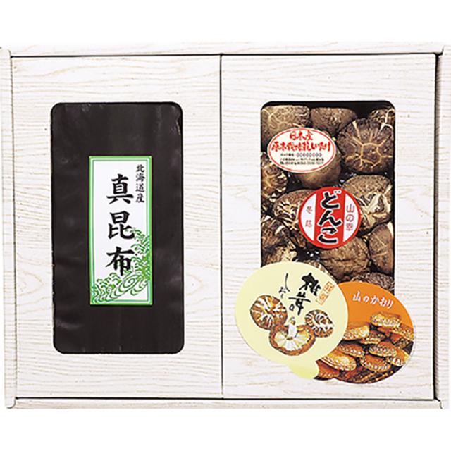 マルトモ物産 椎茸・昆布セット【445】