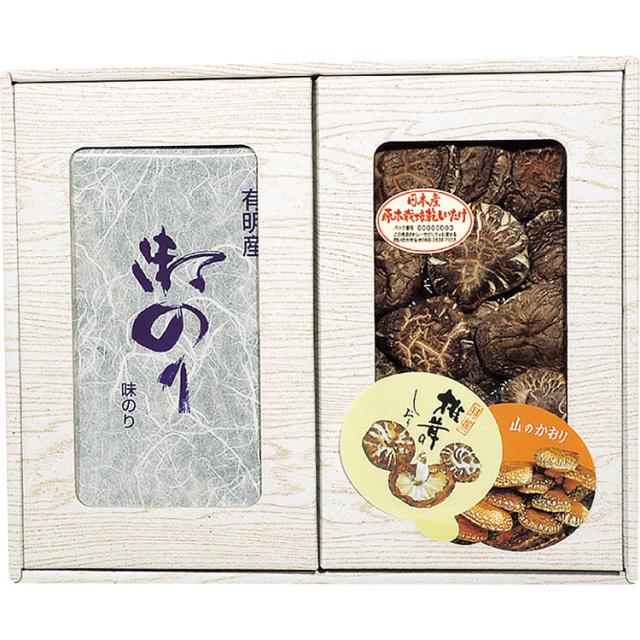 マルトモ物産 椎茸・海苔セット 【469】