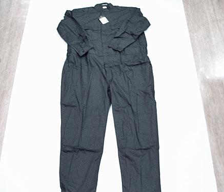 特大つなぎ服 ブラック