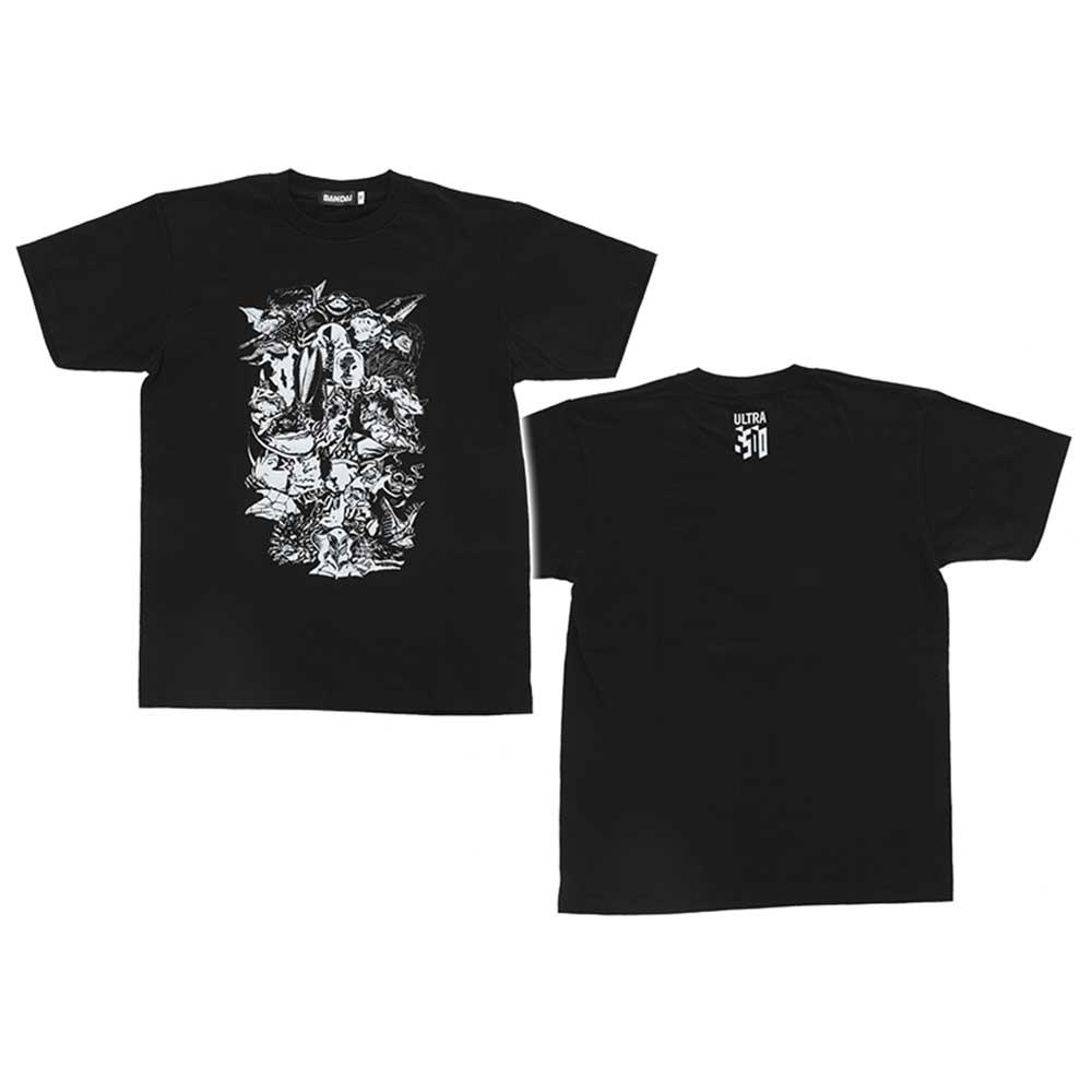 『ウルトラマン』放送開始50年記念 ウルトラマンTシャツ [黒](XL)