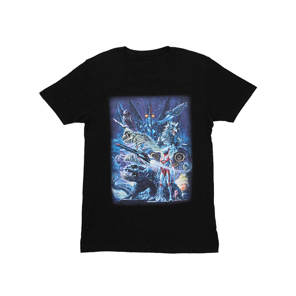 ウルトラマンパワード 生頼範義イラストTシャツ(黒)(L)