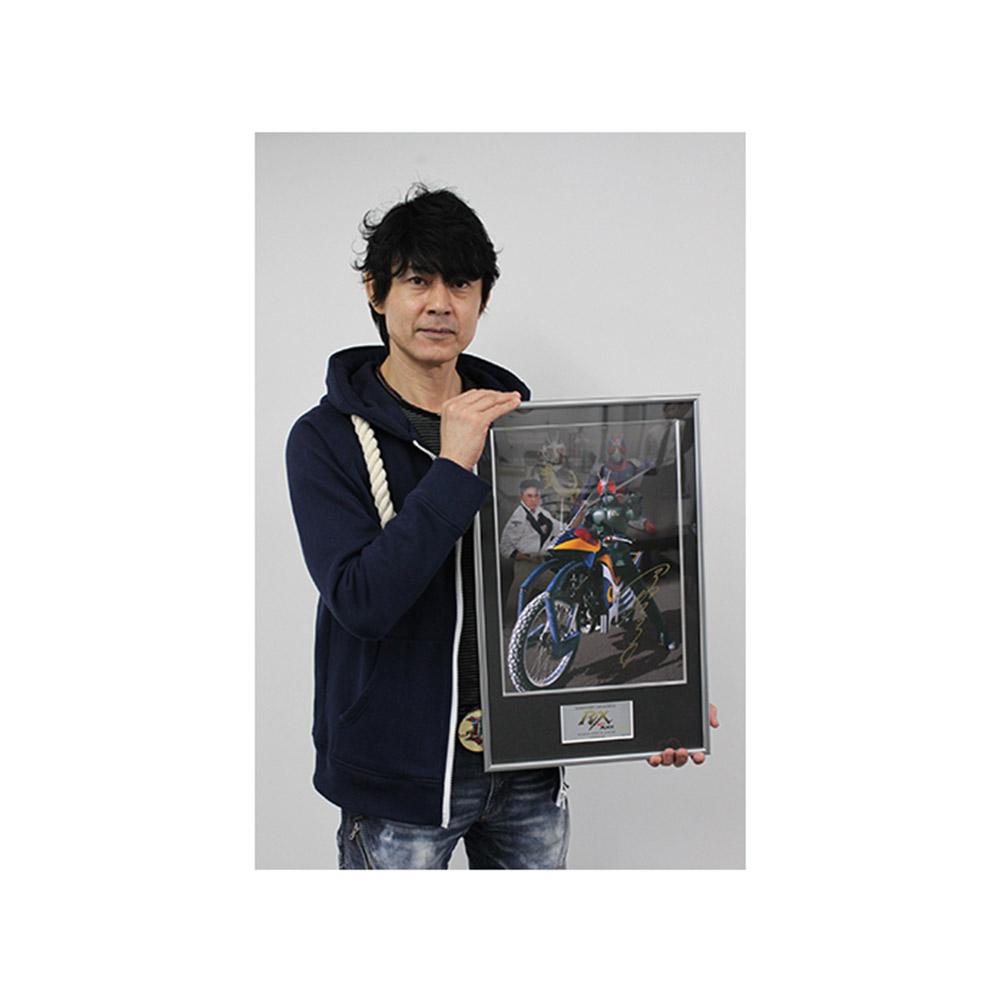 ライダーヒーローメモリアル『仮面ライダーBLACK RX アクロバッター』