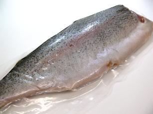 塩トラウトフィレ