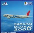 1/400 B777-300ER JAL SAMURAI BLUE 2006 サムライブルー/JALUX