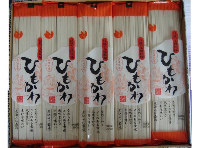 ハト印の乾麺シリーズ ひもかわ