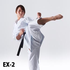 EX-2 組手用(細身タイプ)空手衣、超軽量、薄手