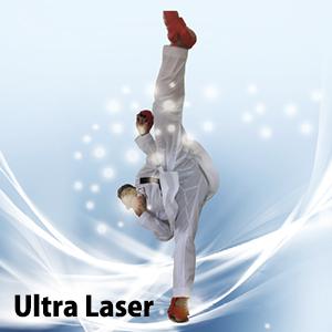 Ultra Laser≪ウルトラレーザー≫ 最新鋭組手用 空手衣、超軽量・超薄手・全方向ストレッチ