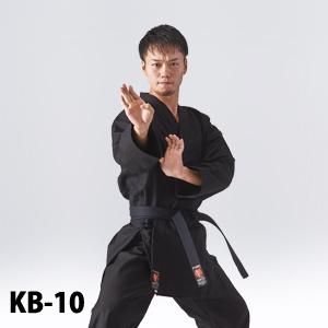 KB-10 黒空手衣、厚手、10号帆布