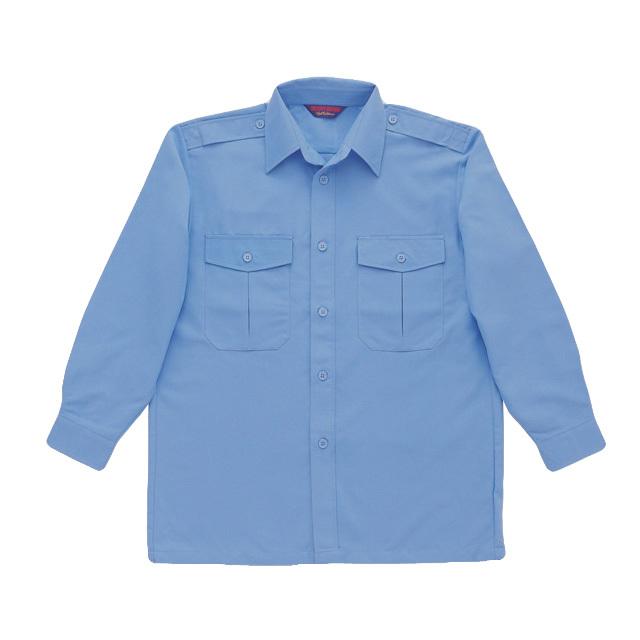 7102 長袖カッターシャツ(男女兼用)