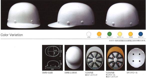 Shinwa(進和化学) SM型ヘルメット(ハッポウ入り)