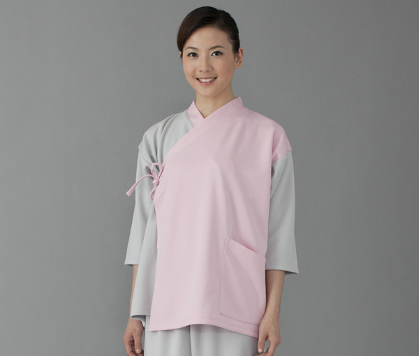 FOLK(フォーク) 7004SK 検診衣(ジンベイ型)