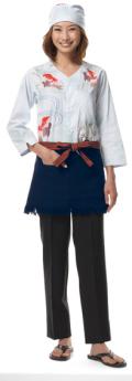 arbe(アルベ) DN-6746 鯉口シャツ(男女兼用)