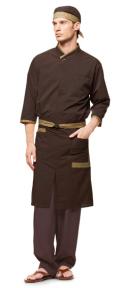 arbe(アルベ) AS-7629 シャツ(七分袖)男女兼用