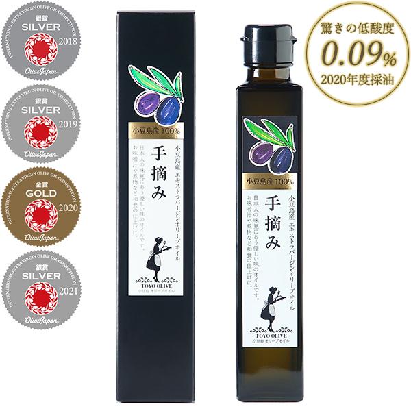小豆島産エキストラバージンオリーブオイル[手摘み] 182g