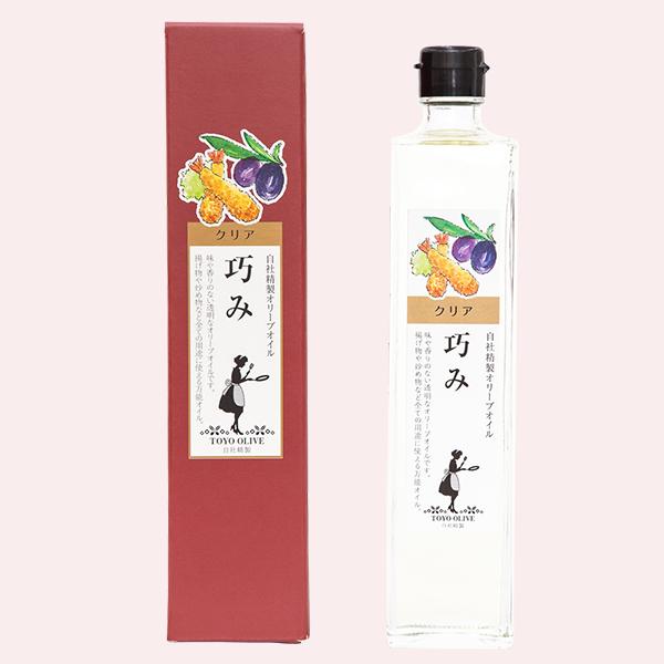 トレア純粋オリーブ油[巧み]456g(500ml)※3本以上から販売【秋の感謝祭】