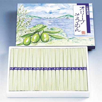 小豆島オリーブそうめん (50g×38束)