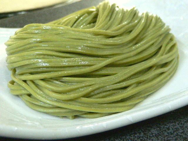 石臼挽き宇治抹茶そば(乾麺)