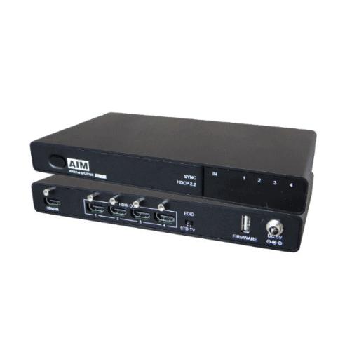 AIM電子 HDMIスプリッター(分配器) AVS-4K22 104