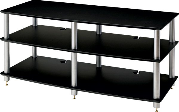 SoundMagic AV03B【AVラック・2段・ブラック棚板】