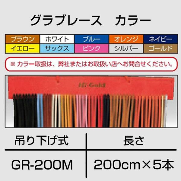 【アドバンスドベースボール推奨】 HI-GOLD グラブレース2m 5本セット