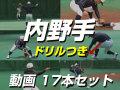 【内野手】 動画17本セット
