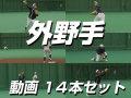 【外野手】 動画14本セット