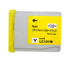 LC10Y イエロー リサイクルインク