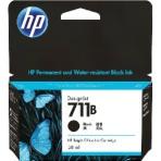 【取寄せ】HP 711B インクカートリッジ ブラック(3WX00A)純正 38ml