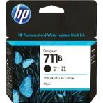 【取寄せ】HP 711B インクカートリッジ ブラック(3WX01A)純正 80ml