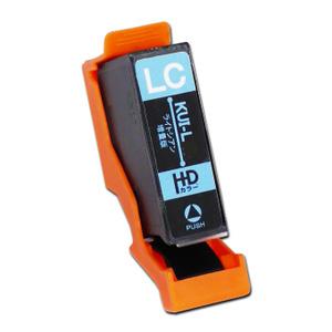 インクカートリッジ クマノミ ライトシアン 増量 KUI-LC-L 汎用品