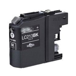 インクカートリッジ LC213BK (黒) 汎用品(新品・ノーブランド)