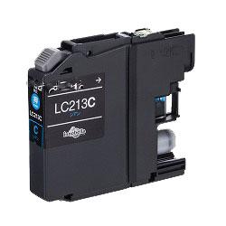 インクカートリッジ LC213C (シアン) 汎用品(新品・ノーブランド)