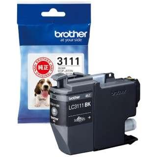 brother インクカートリッジ LC3111BK (ブラック) 純正