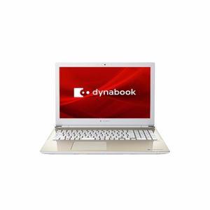 【取寄せ】Dynabook ノートパソコン P1T6NPEG  dynabook  T6/NG  サテンゴールド 純正