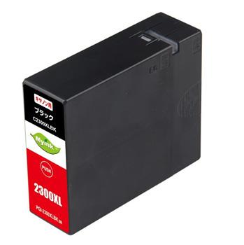 インクタンク PGI-2300XLBK(大容量) ブラック 汎用品(新品・ノーブランド)