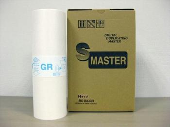 RISO用マスター ROB4-GR Hタイプ (B4) 汎用 <4個入>