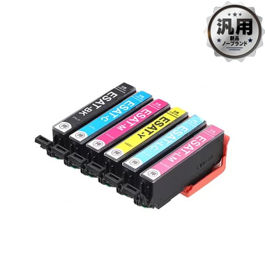 【数量限定】インクカートリッジ サツマイモ SAT-6CL 6色パック 汎用品(新品・ノーブランド)