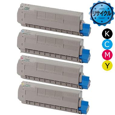 トナーカートリッジ TC-C4D(K、C、M、Y)2 リサイクル<4色入>