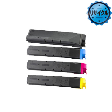 TK-8601(K、C、M、Y) トナー リサイクル<4色入>