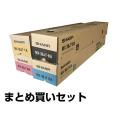 MX36JT トナー シャープ MX3610 MX3640 MX2640 MX3140 4色 純正 [数量限定]