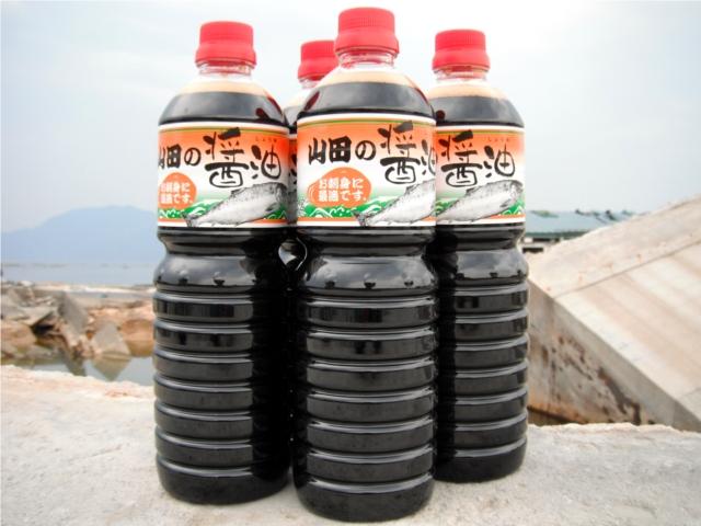 山田の醤油(1L×6本セット)