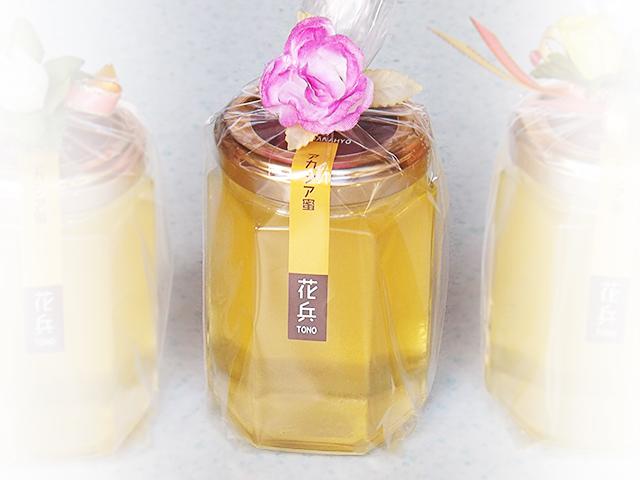 花兵養蜂農園産のアカシア蜜(180g)各セット