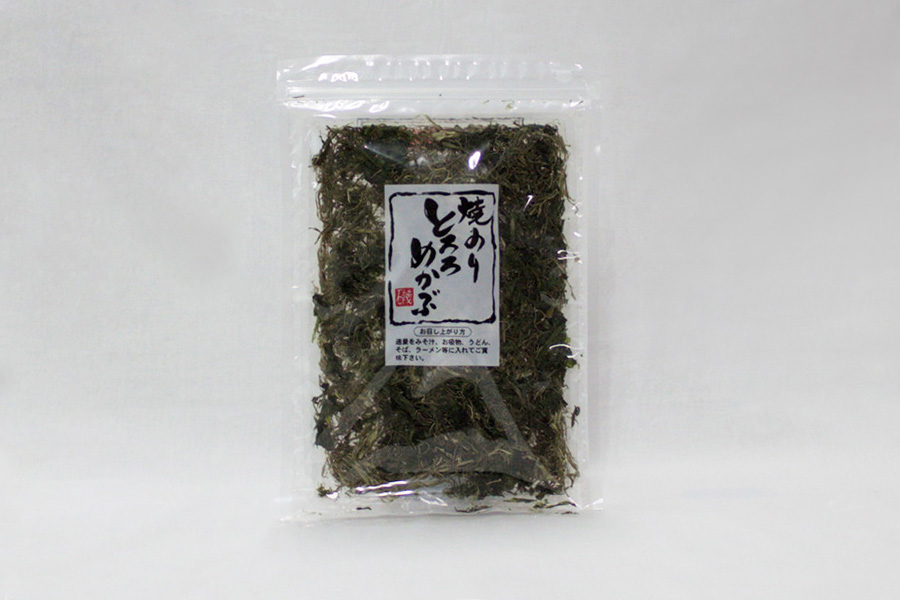 焼きのりとろろめかぶ 38g 5個セット(袋)【送料込み】