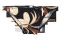 【30%OFF】メンズ・ブラックカポック シーム&ハギなしフルバック下着(243)
