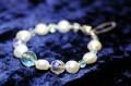 豪華な煌きのデザイン真珠ブレスレット