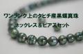 黒蝶ネックレス