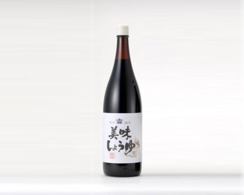 天王醸造 美味しょうゆ(1.8L)