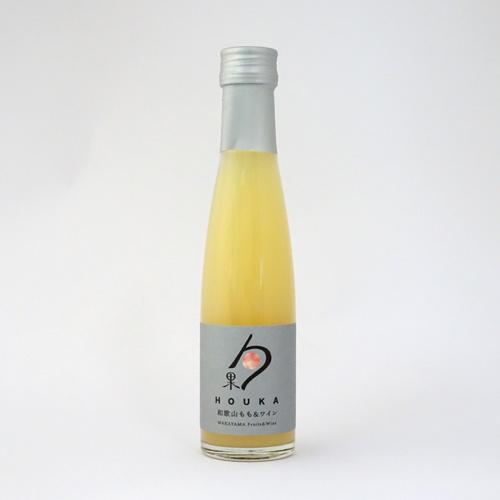 湯浅ワイナリー 和歌山フルーツ&ワイン「勹果(ほうか)」和歌山もも&ワイン(180ml)