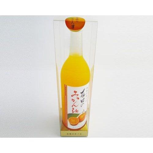 世界一統 和歌のめぐみ 有田のみかん酒(720ml)