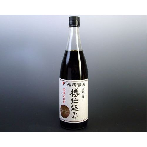 丸新本家 湯浅醤油 蔵匠 樽仕込み(720ml)